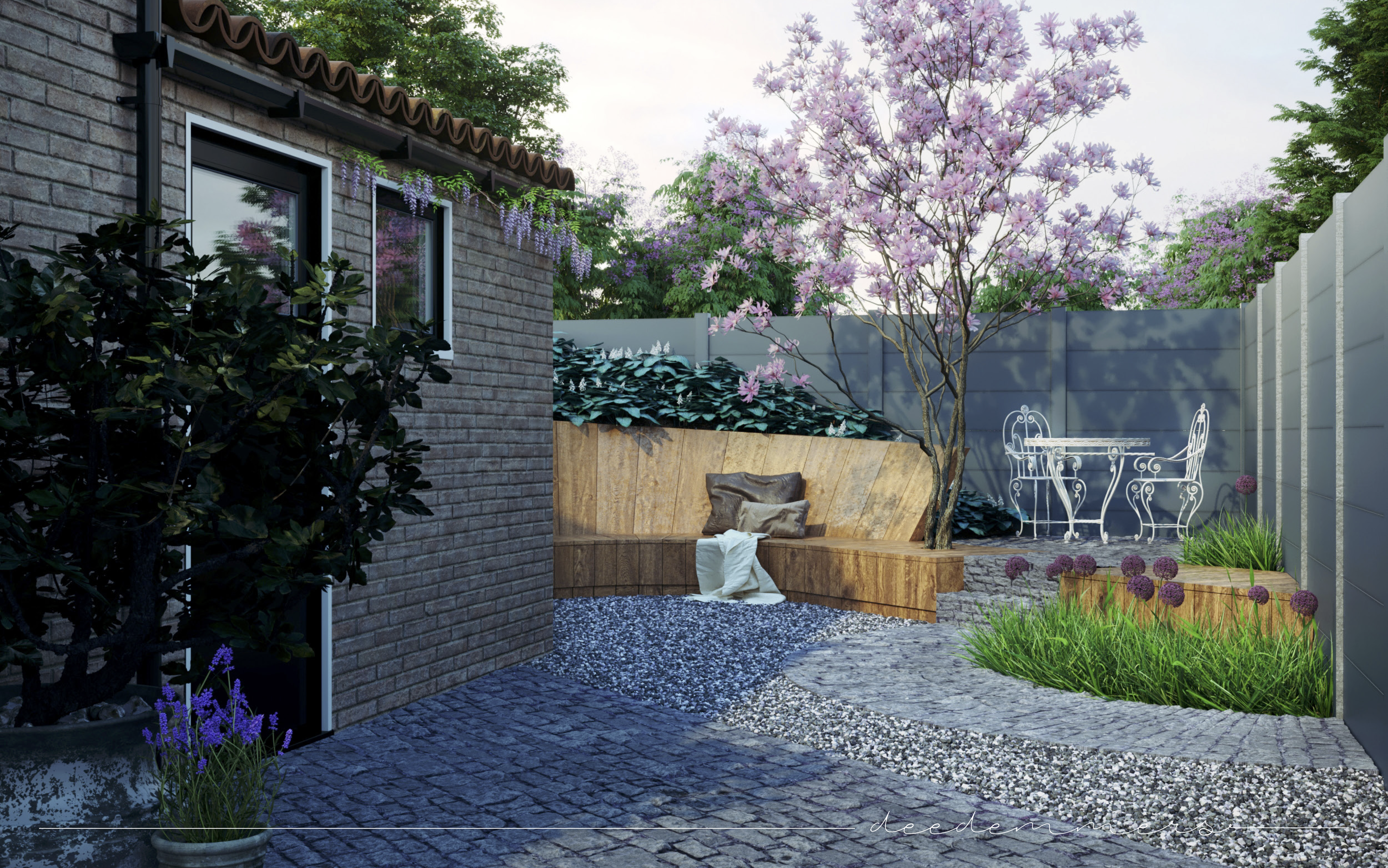 interieur design - Flower Experience by Deedemmers